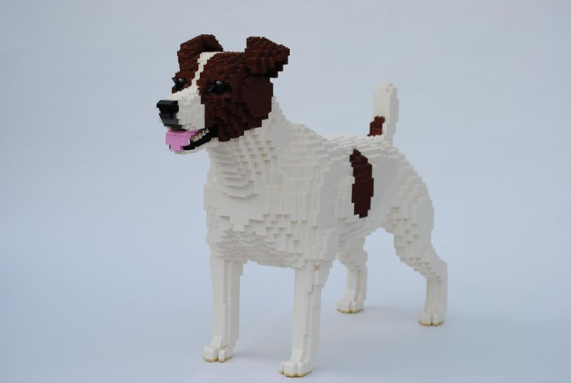 10 Of Our Favourite Dog-Shaped LEGO MOCs