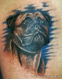 The 17 Coolest Mastiff Tattoo Designs In The World