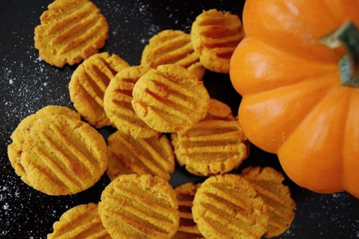 Carrot Pumpkin Dog Bites