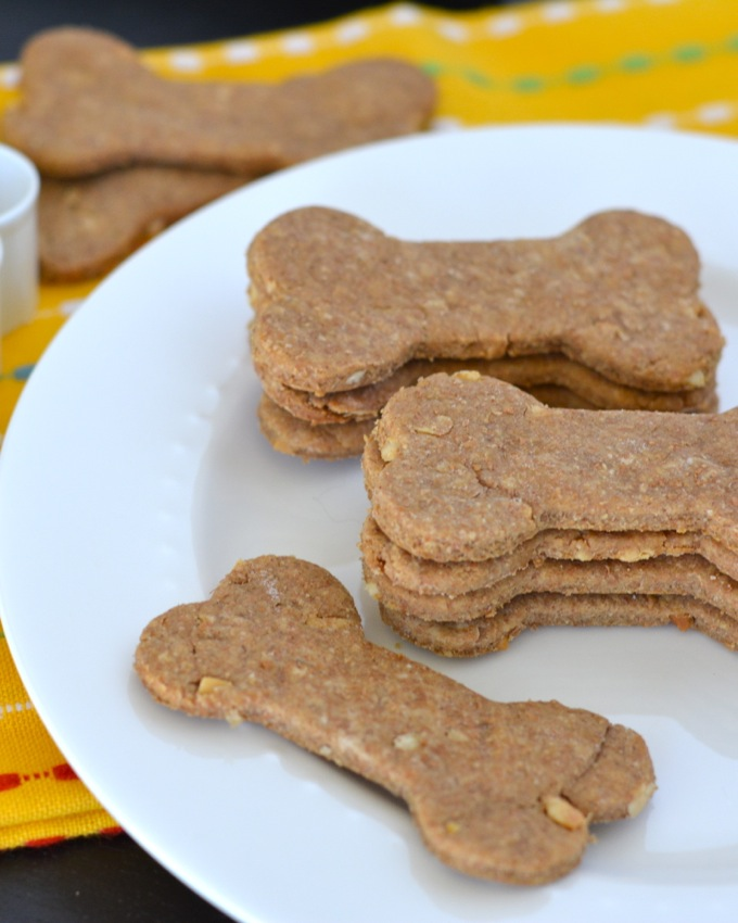 Peanut Butter Treats dog