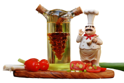 Cooking Figure Vinegar for pet