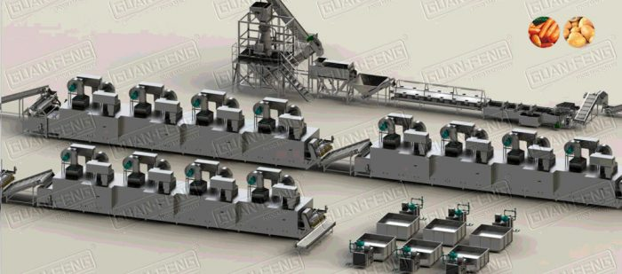 Vegetable Processing Machine | Drying Processing Line